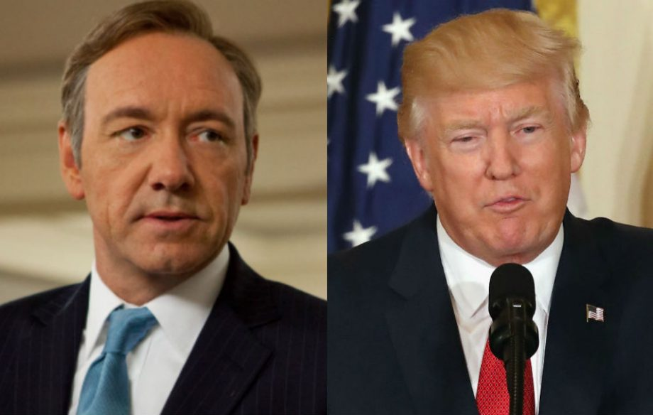 Kevin Spacey In House Of Cards, Donald Trump