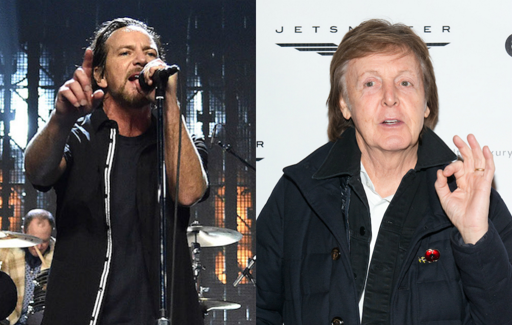 Paul Mccartney Once Punched Eddie Vedder In The Face Nme