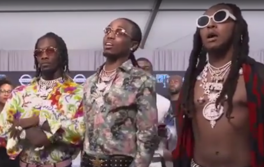 Watch Migos come to blows with Joe Budden at the BET Awards