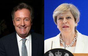 Piers Morgan, Theresa May