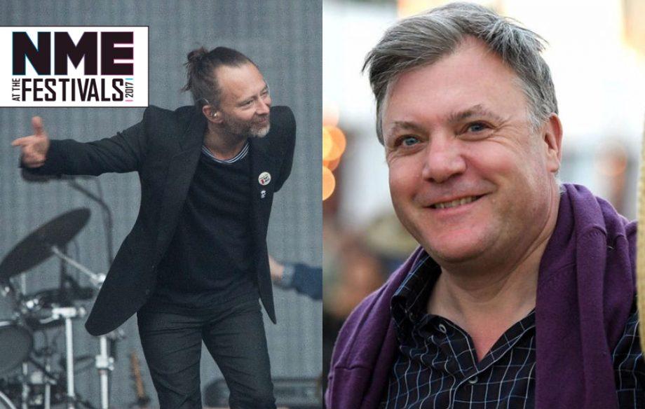 Ed Balls says Radiohead's Glastonbury headline set was 'dirge-like'