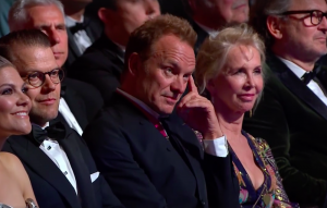 Sting at the Polar music prize
