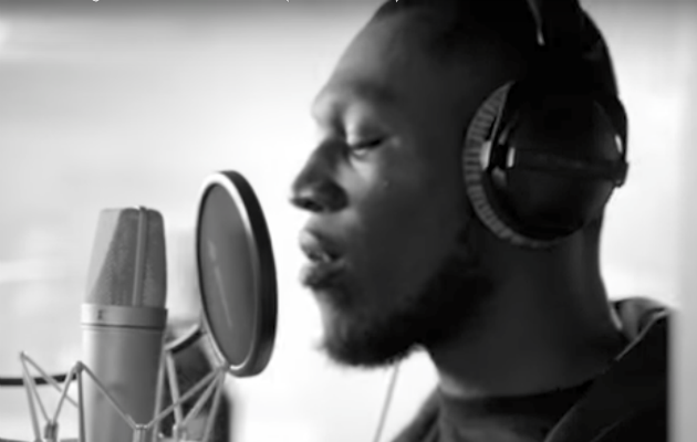 Stormzy in the Artists for Grenfell video