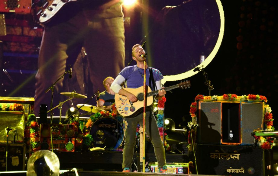 Watch Coldplay end their massive Cardiff gig by playing the Welsh