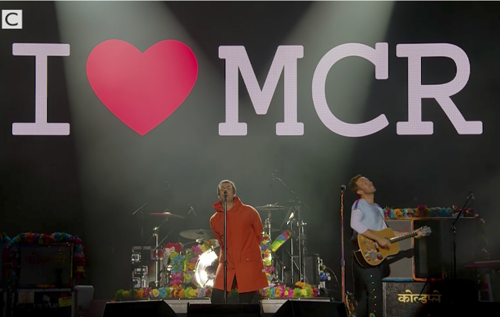 Watch Liam Gallagher Perform And Duet With Coldplay At The