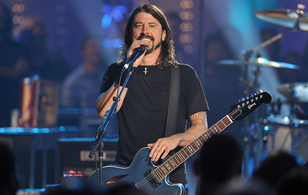 Watch Dave Grohl's 8-year-old daughter drum with the Foo ... Music Icon Images Hd