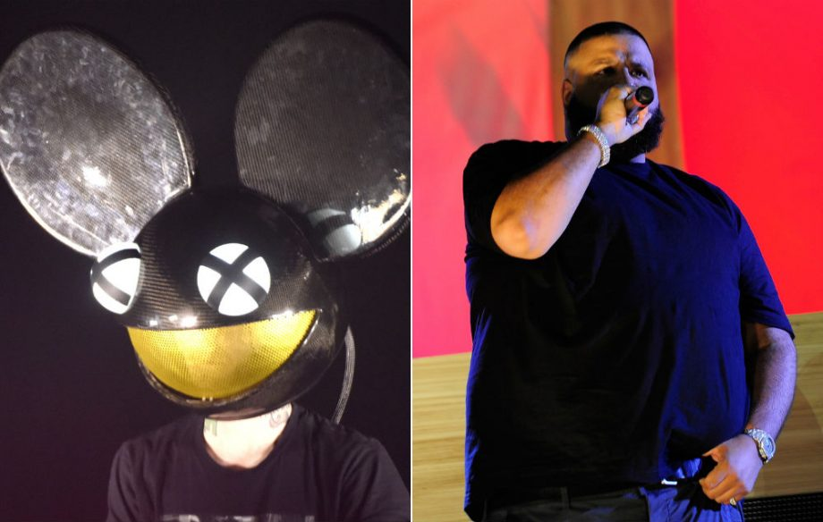 deadmau5 and dj khaled credit getty