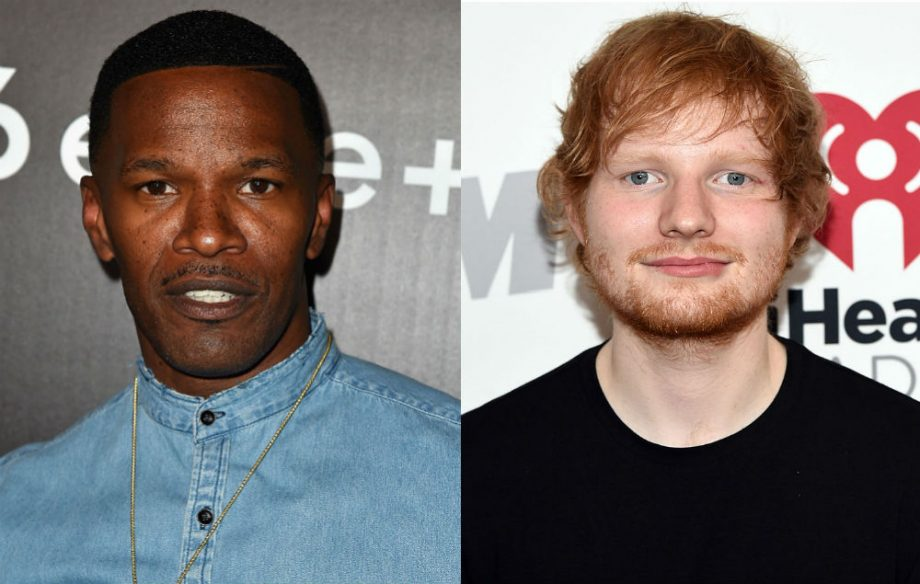 Ed Sheeran Slept On Jamie Foxx's Sofa For Six Weeks Before