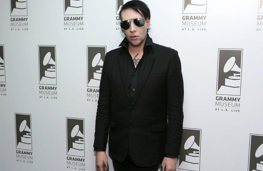 watch marilyn manson play a hitman in 'let me make you a martyr