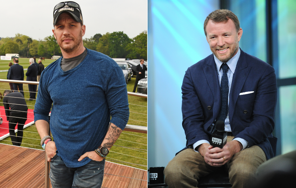 Tom Hardy tipped for role in Guy Ritchie's 'Aladdin ...