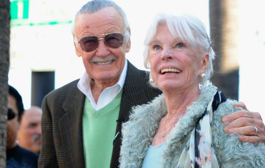 Image result for stan lee and wife