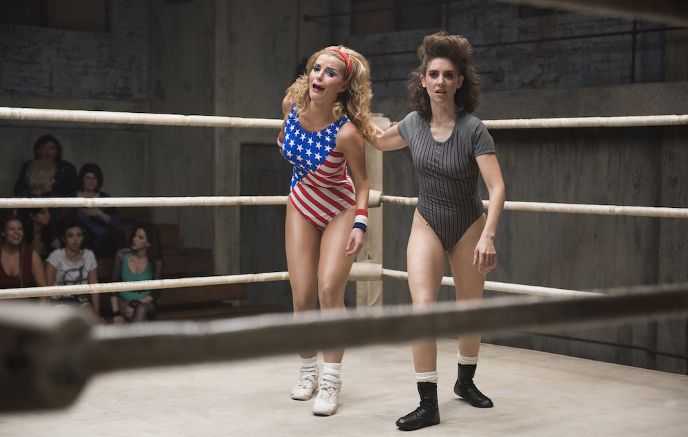 Alison Brie Interview On Glow Wrestling And The
