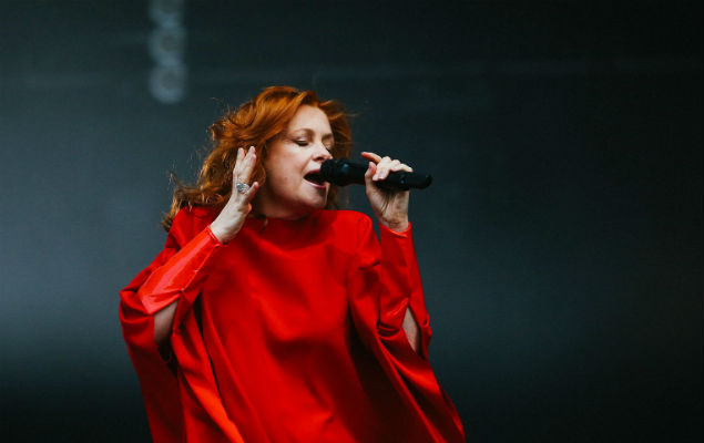 Goldfrapp brought the glamour
