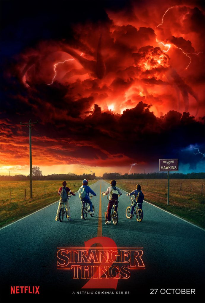 Image result for stranger things 2 logo png