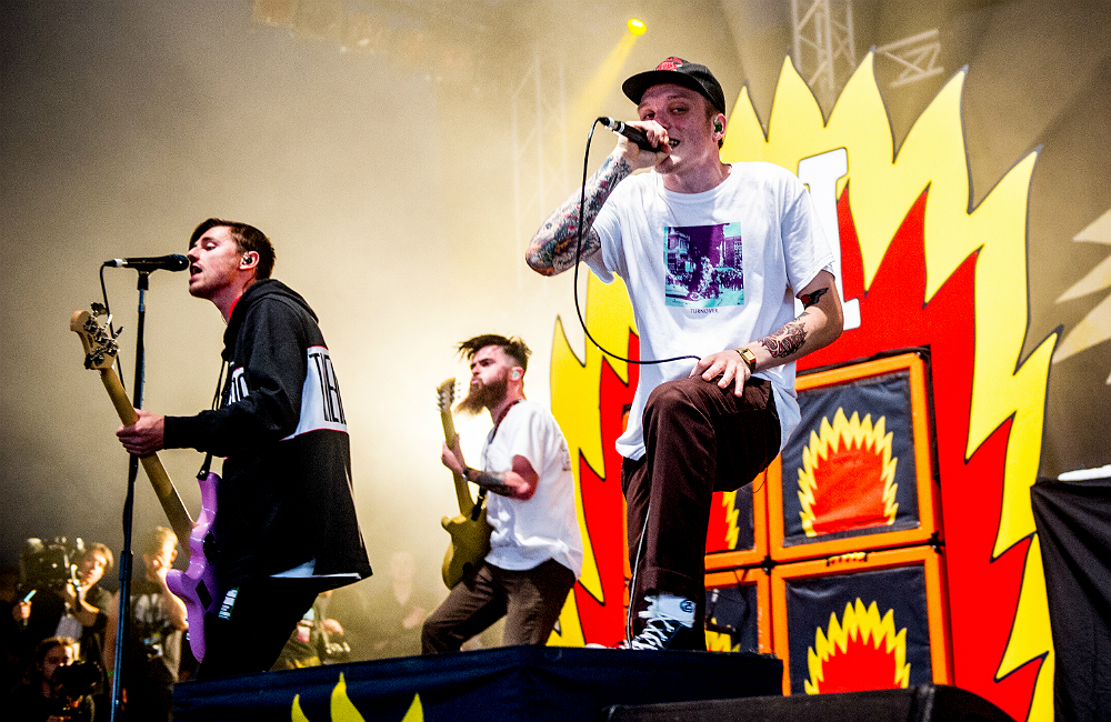 Neck Deep Involved In Police Lockdown Following Shooting