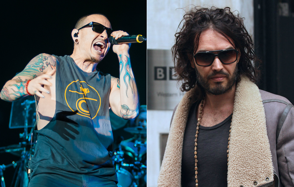 Russell Brand Discusses Chester Bennington S Suicide Nme