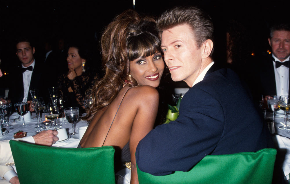 "David Bowie's widow Iman ""helped tremendously by ..."