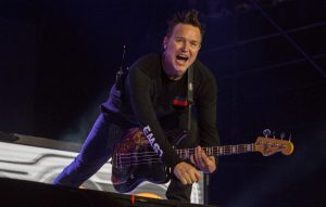Blink 182's Mark Hoppus is urging fans to help victims of Hurricane Harvey