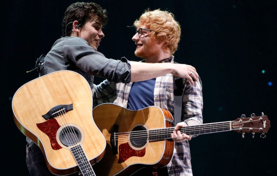 Watch Ed Sheeran and Shawn Mendes perform surprise duet