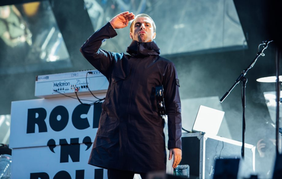 "Liam Gallagher at Leeds: ""It's nice to be back in Leeds - the posh bit anyway"""