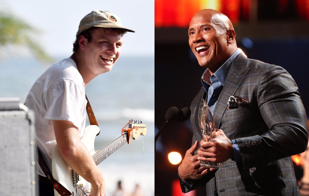 Mac DeMarco talks about having a crush on Dwayne 'The Rock' Johnson