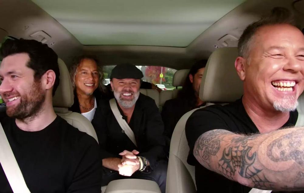 Carpool Karaoke Metallica : watch metallica play 39 metal have i ever 39 on 39 carpool karaoke 39 ~ Hamham.info Haus und Dekorationen