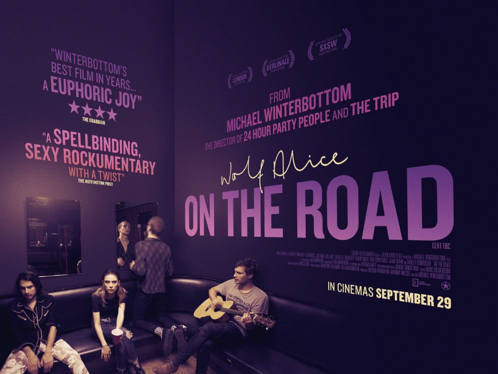 NME can exclusively reveal the poster for Wolf Alice's new Michael Winterbottom-directed film 'On The Road'