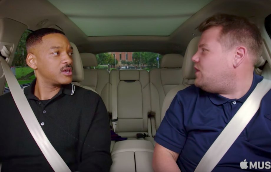 James Corden Took Will Smith S Carpool Karaoke To The Next Level Nme