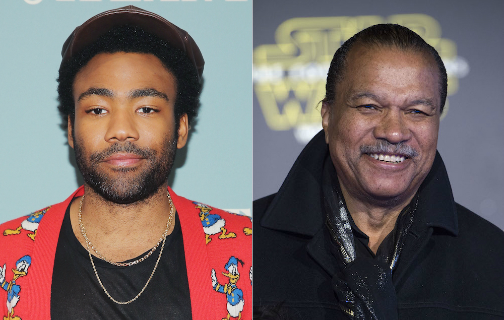 Donald Glover Says He Wore A Fake Nose To Meet The