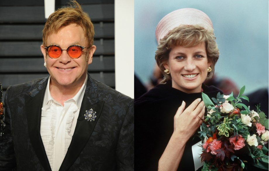 Elton John Remembers Princess Diana On Anniversary Of Her