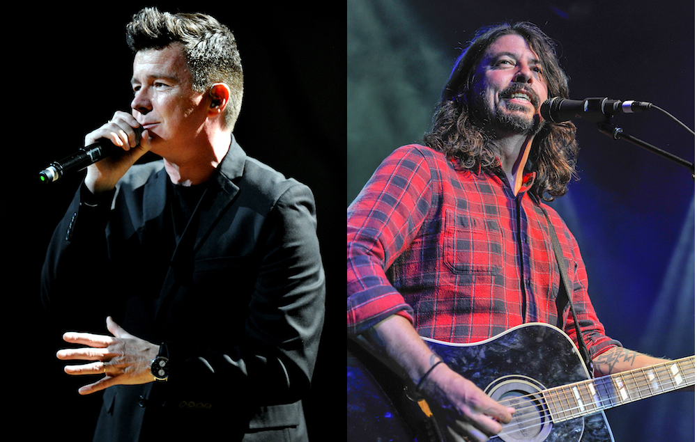 Watch Foo Fighters Play Never Gonna Give You Up With