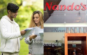 Nandos are offering free chicken to those collecting their A-Level results today