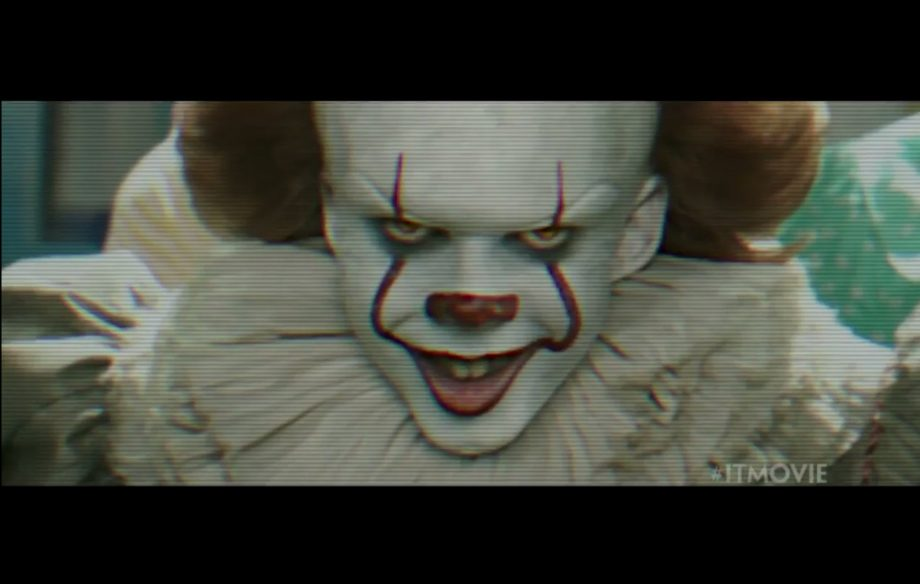 see some creepy new footage of pennywise in the new tv