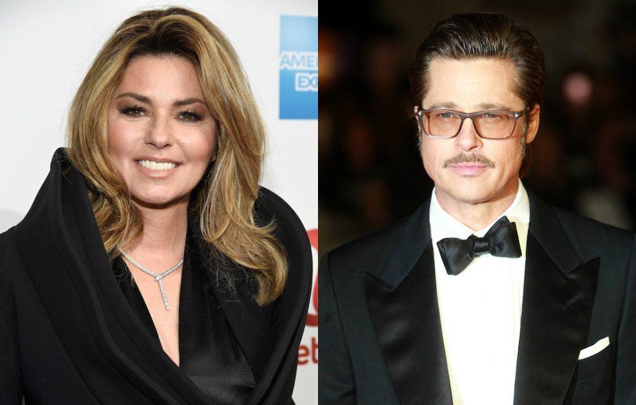 Shania Twain Reveals Why She Namechecked Brad Pitt In