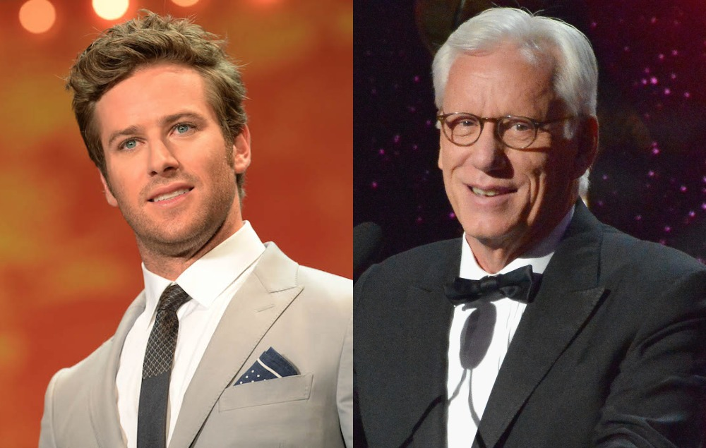 Armie Hammer And James Woods In Twitter Spat Over Age Gap