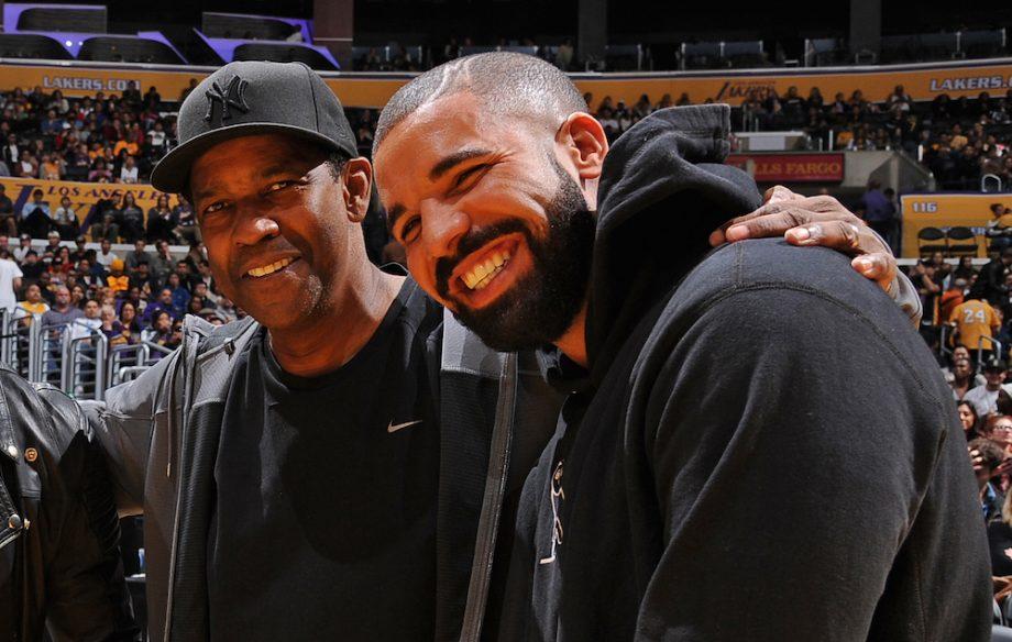 Watch Denzel Washington React To Drake S Tattoo Of His