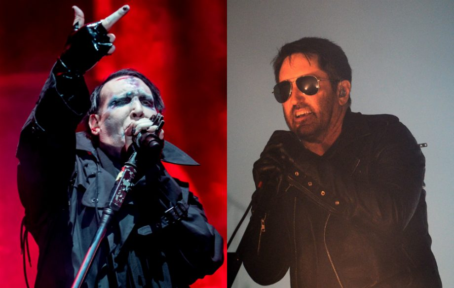 Marilyn Manson speaks out on his current relationship with Trent Reznor