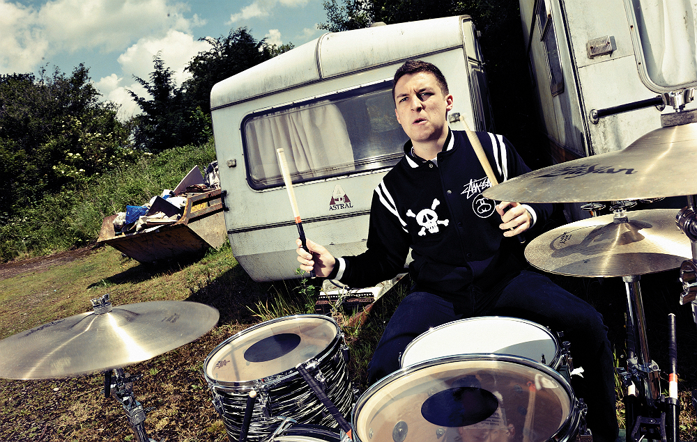 Arctic Monkeys' drummer Matt Helders