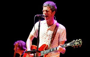 Noel Gallagher live at the 'We Are Manchester' benefit show