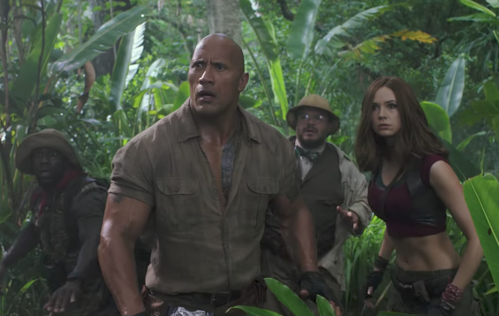 Jumanji Welcome To The Jungle Watch The Film S Second