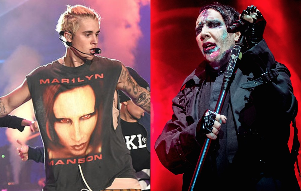 Marilyn Manson Reveals Texts Justin Bieber Sent Him About