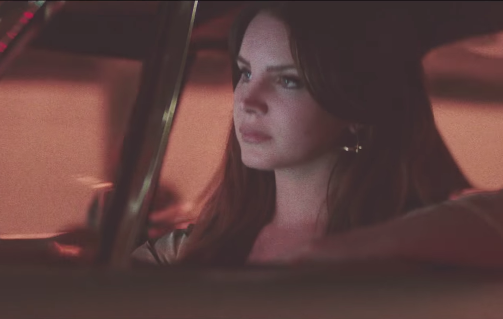 Watch Lana Del Rey Take A Ride Around La In New White