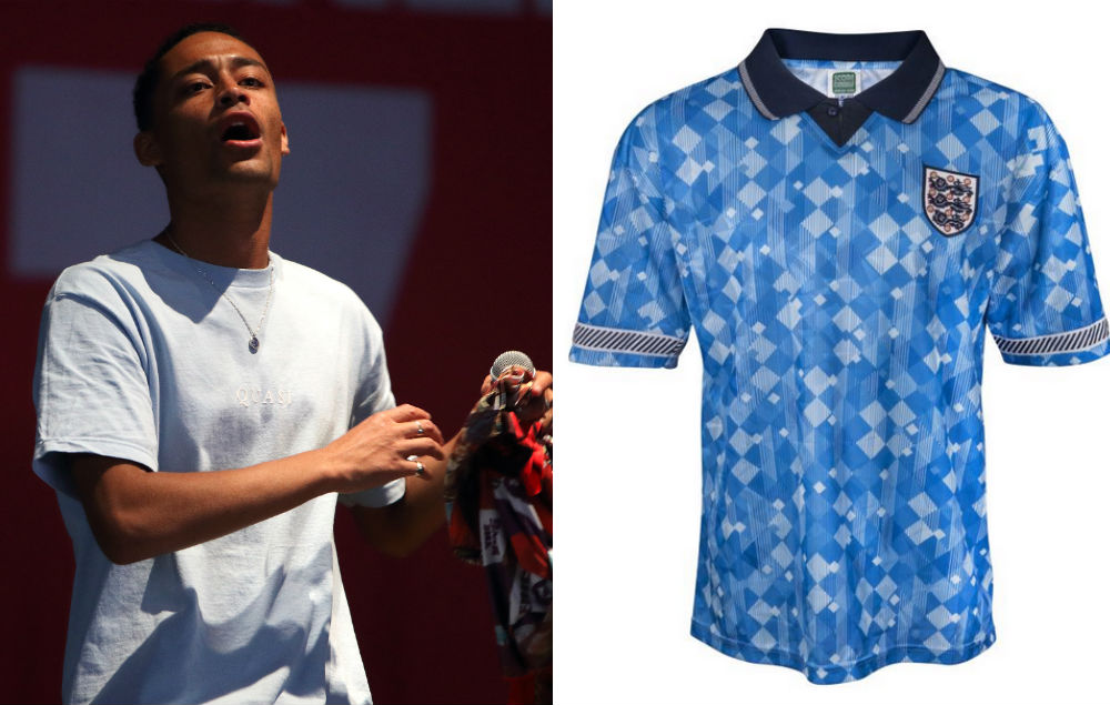 359e5e06de4 Loyle Carner is swapping vintage football shirts for tickets to his sold  out tour
