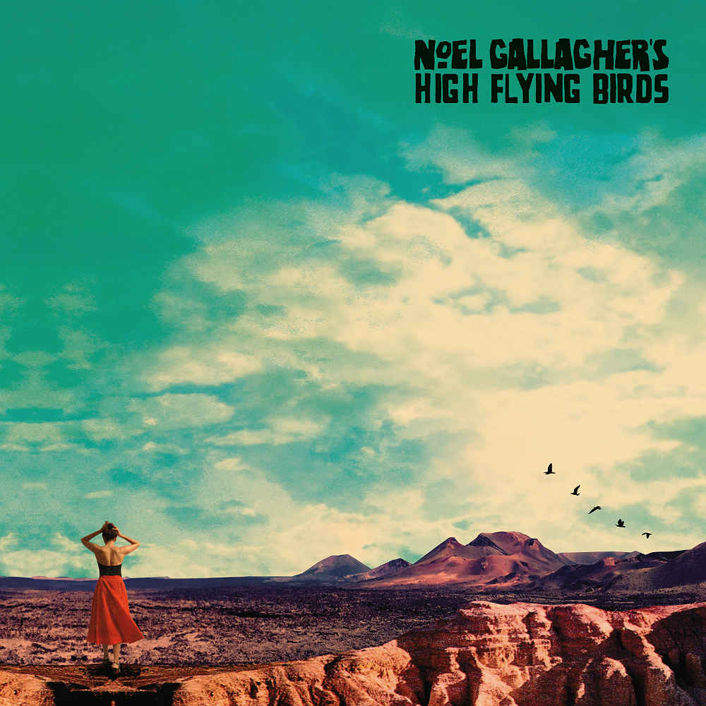 The artwork for Noel Gallagher And The High Flying Birds' new album 'Who Built The Moon?'