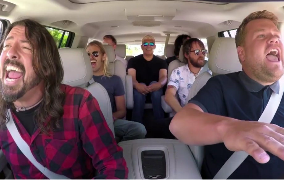 Foo Fighters Carpool Karaoke στον James Corden