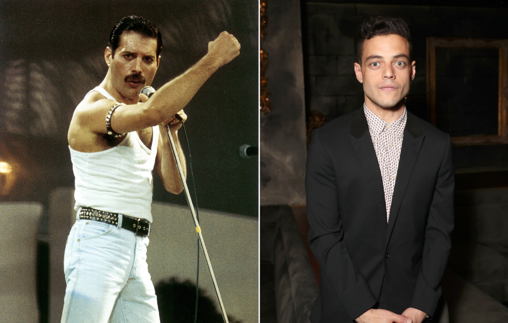 See The First Picture Of Rami Malek As Freddie Mercury In
