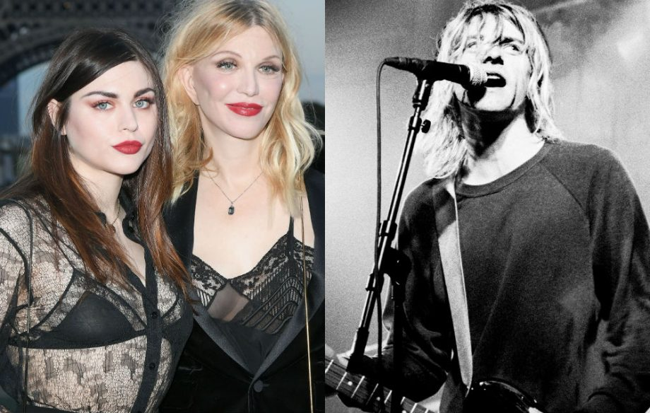 Heres how much frances bean earns from kurt cobains publicity frances bean courtney love and kurt cobain freerunsca Images