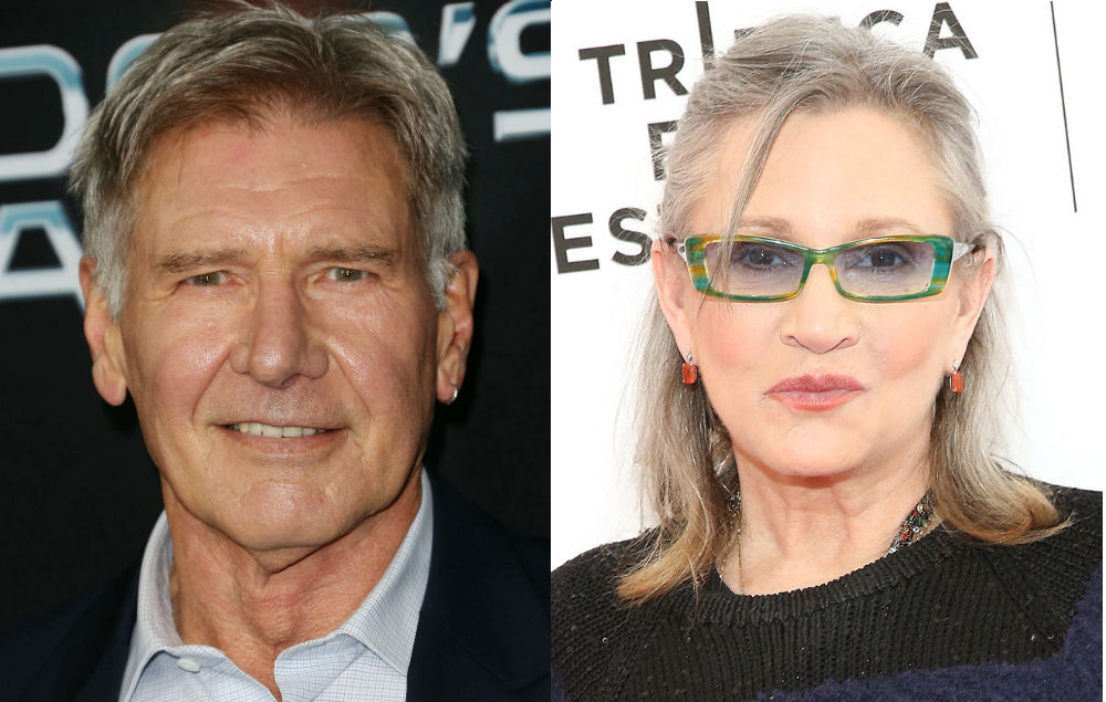 Harrison Ford Responds To Carrie Fisher Questions In