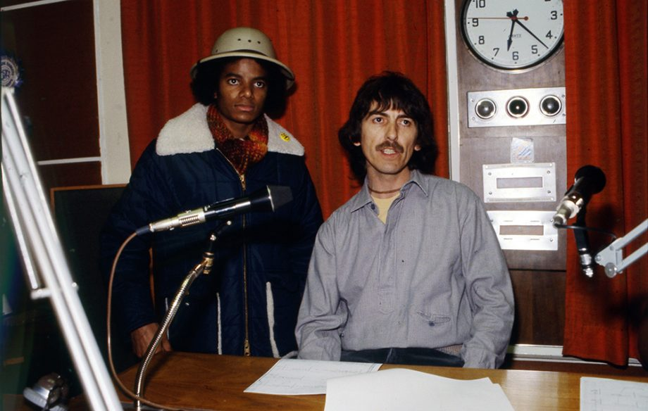 Listen to Michael Jackson and George Harrison talk about music