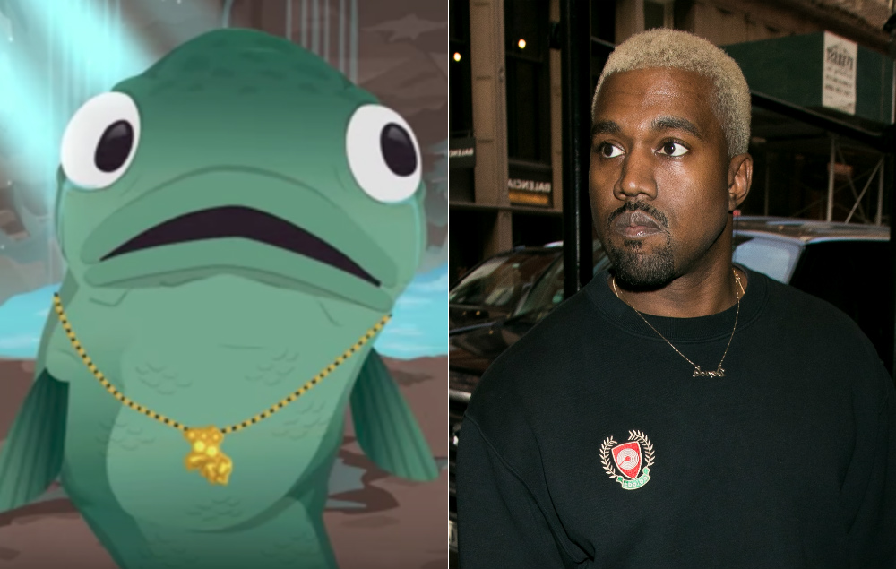 Kanye West Is A Gay Fish In Trailer For New South Park